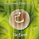Símbolo dos hieróglifos chineses Foto de Stock Royalty Free