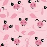 Símbolo dos porcos do ano novo foto de stock