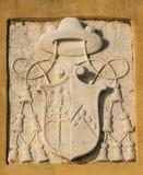 Símbolo eclesiástico en Venecia Fotos de archivo