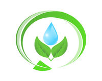 Símbolo ecológico libre illustration