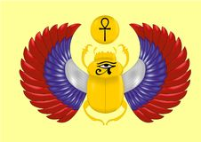 Símbolo egípcio antigo ilustração do vetor