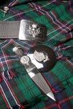 Símbolo escocês do thistle fotos de stock