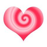 Símbolo estilizado do amor ilustração royalty free