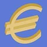 Símbolo euro Foto de archivo