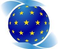 Símbolo europeu Fotografia de Stock