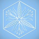Símbolo floral Fotografía de archivo libre de regalías