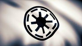 Símbolo galáctico Logo Flag de la república de Star Wars Símbolo galáctico Logo Flag de la república de Star Wars Uso editorial s foto de archivo