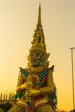 Símbolo gigante, templo imagem de stock