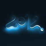 Símbolo hecho a mano del Año Nuevo Imagen de archivo libre de regalías