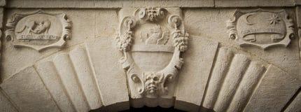 Símbolo heráldico noble Fotografía de archivo