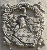 Símbolo heráldico noble Fotos de archivo libres de regalías