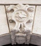 Símbolo heráldico noble Fotos de archivo