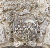 Símbolo heráldico noble Imagen de archivo