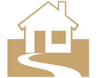 Símbolo Home Fotografia de Stock