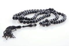 Símbolo islámico/chrisitan del rosario imagenes de archivo