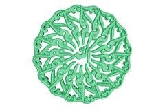 Símbolo islâmico #22 da oração Imagens de Stock