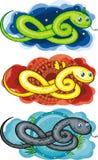 Símbolo, la serpiente Imagen de archivo