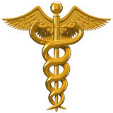 Símbolo médico Foto de archivo