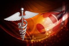 Símbolo médico Fotografia de Stock Royalty Free