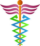 Símbolo médico Imagen de archivo libre de regalías