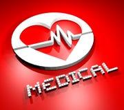 Símbolo médico Fotografía de archivo