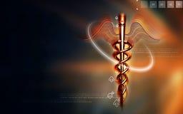 Símbolo médico Foto de Stock