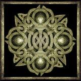 Símbolo místico de pedra ilustração stock