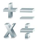 Símbolo matemático Fotos de archivo
