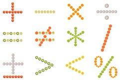 Símbolo matemático stock de ilustración
