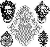 Símbolo medieval ilustración del vector