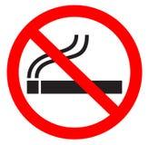 Símbolo não fumadores Imagem de Stock