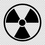 Símbolo nuclear da radiação Imagem de Stock