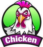 Símbolo o icono del pollo stock de ilustración