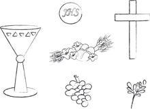 Símbolo para a cristandade Fotografia de Stock Royalty Free