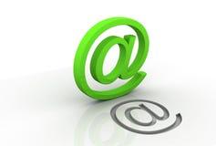 Símbolo para el Internet Foto de archivo libre de regalías