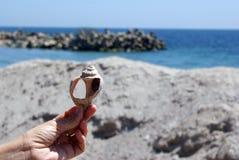 Símbolo para o feriado do beira-mar Fotografia de Stock Royalty Free