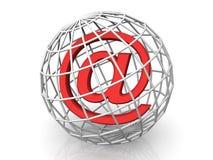Símbolo para o Internet Foto de Stock