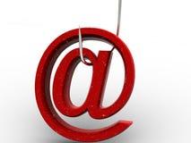 Símbolo para o Internet ilustração royalty free