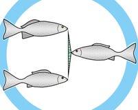 Símbolo para uma comunicação ilustração stock