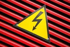 Símbolo, peligro Fotos de archivo libres de regalías