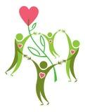 Símbolo positivo. Fotografía de archivo libre de regalías