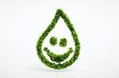 Símbolo puro del agua Imágenes de archivo libres de regalías