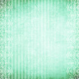 Símbolo rayado verde Fotografía de archivo