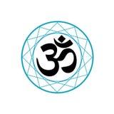 Símbolo religioso del Hinduismo Imagen de archivo libre de regalías