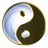 Símbolo religioso - tao Imágenes de archivo libres de regalías