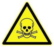Símbolo tóxico Fotografía de archivo libre de regalías