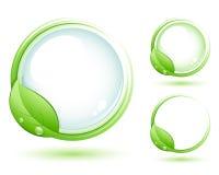 Símbolo verde Fotografía de archivo libre de regalías