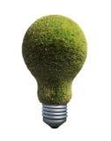Símbolo verde da energia Fotografia de Stock