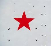 Símbolo vermelho da estrela Imagem de Stock Royalty Free
