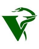 Símbolo veterinario ilustración del vector